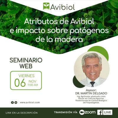 Atributos de Avibiol e impacto sobre patógenos de la madera